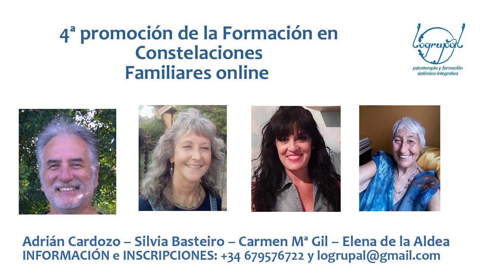 4ª promoción de la Formación en Constelaciones Familiares en Almería (online) Nivel 1 (2021)