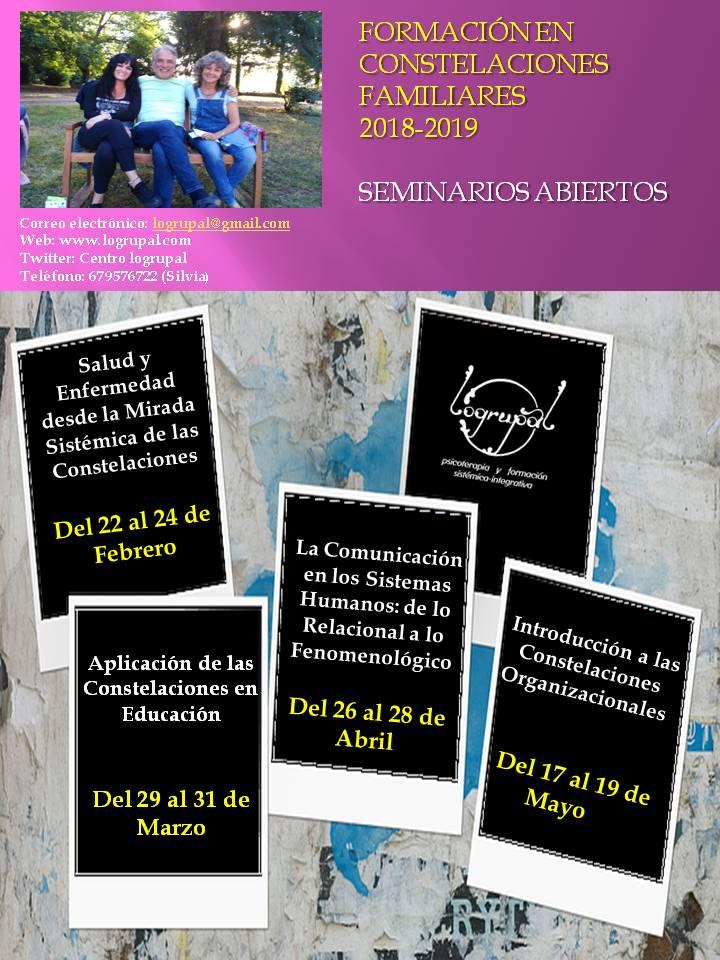 Seminarios monográficos de formación en Almería (de febrero a mayo)