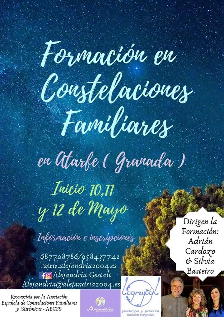 Módulo 1 del nivel 1 de la Formación en Constelaciones Familiares en Atarfe (Granada) – 25 al 27 de octubre