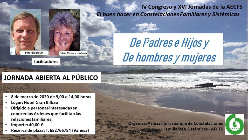 Congreso AECFS en Bilbao: El buen hacer en constelaciones familiares y sistémicas (5 al 8 de marzo)