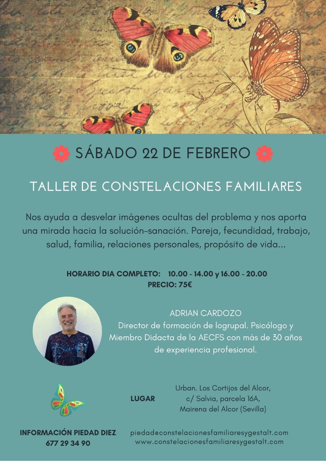 Taller de Constelaciones Familiares en Sevilla (21 de marzo)