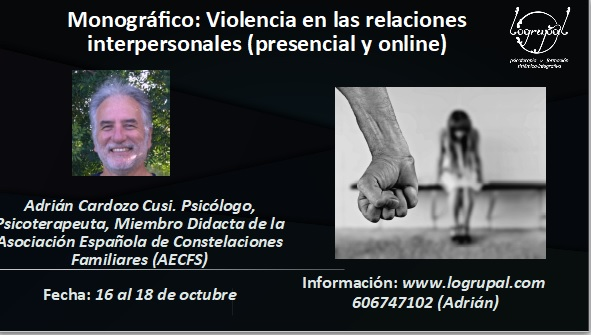 Módulo 2 del Nivel 3 de la Formación en Constelaciones Familiares (Almería, 16 al 18 de octubre)(presencial y online)