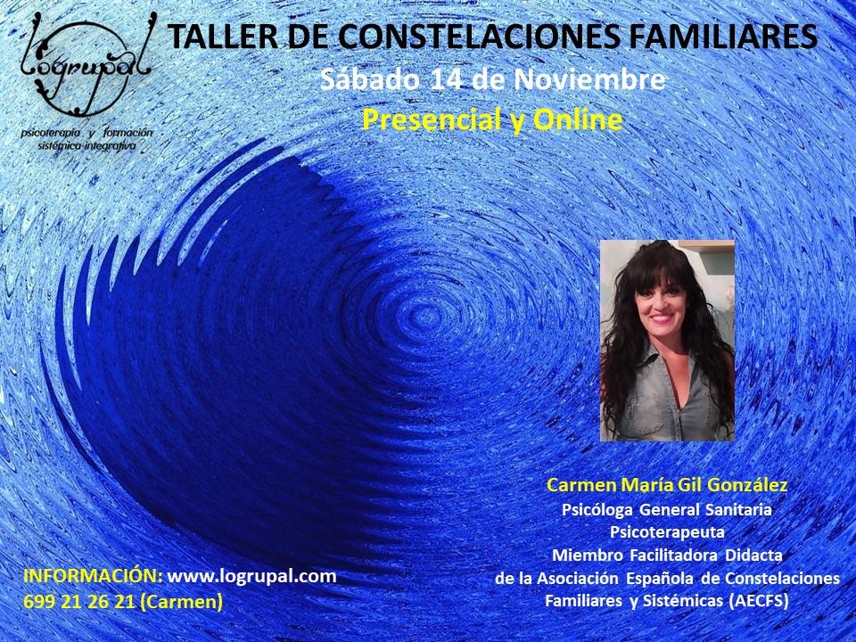 Taller de Constelaciones Familiares en Almería y online (Sábado 14 de noviembre)