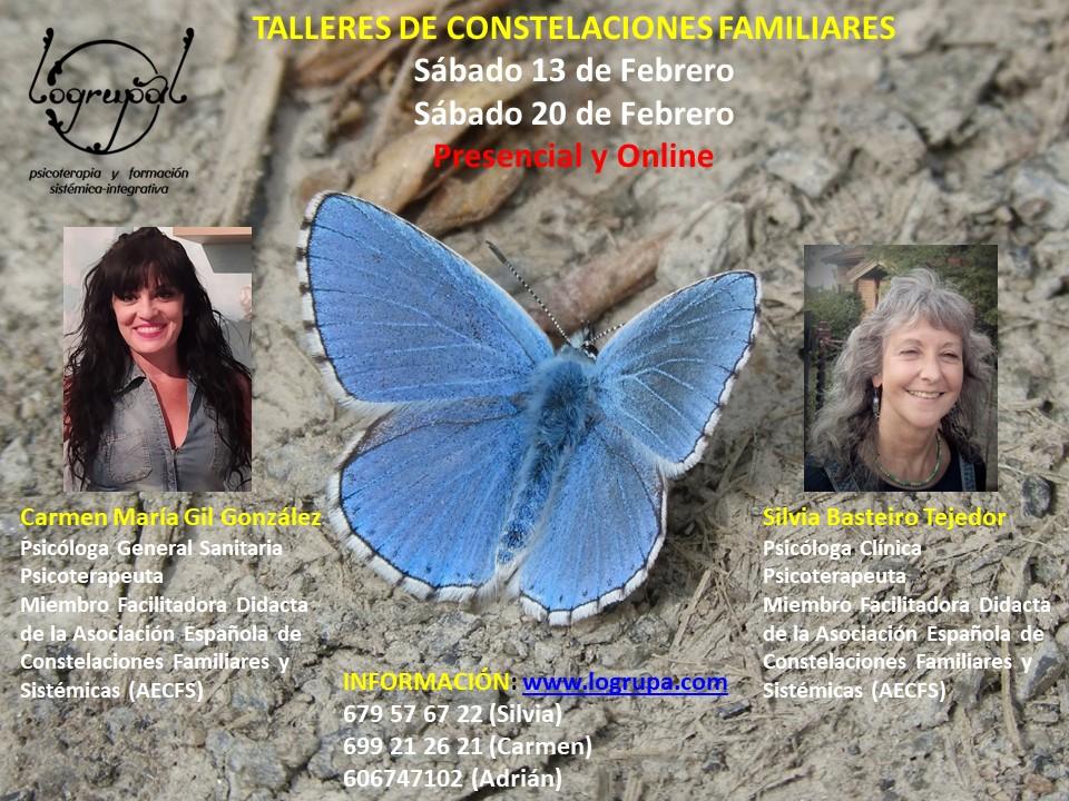 Talleres de Constelaciones Familiares en Almería y online (Sábados 13 y 20 de febrero)