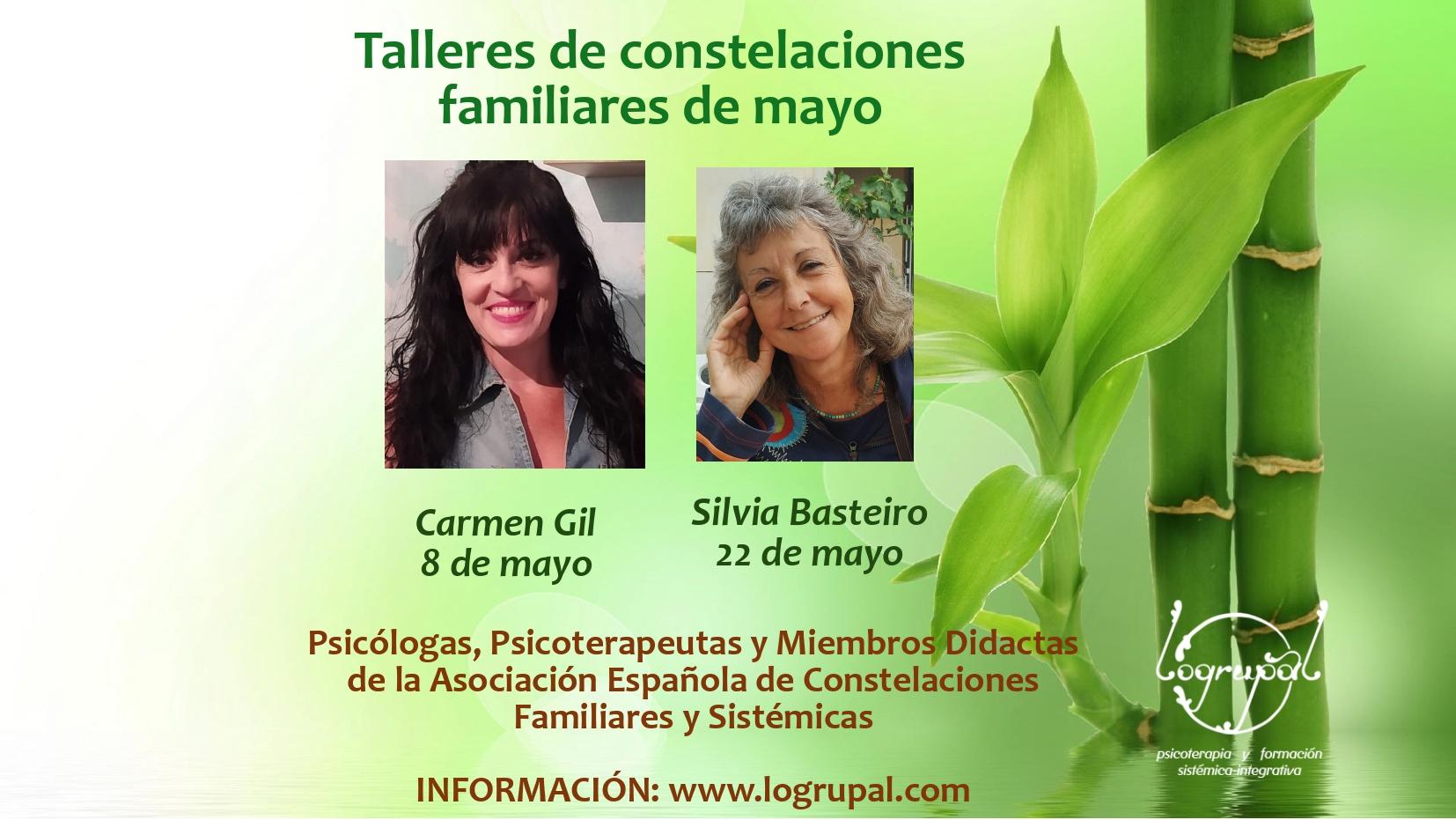 Talleres de Constelaciones Familiares en Almería y online (Sábados 8 y 22 de mayo)
