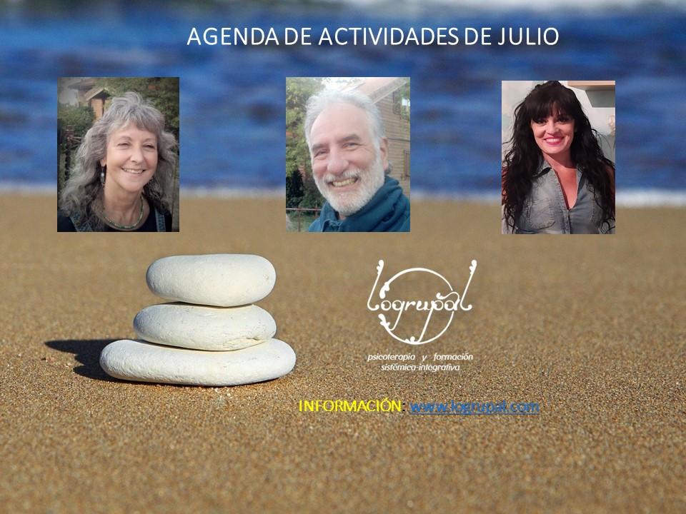 Agenda de actividades de JULIO 2021