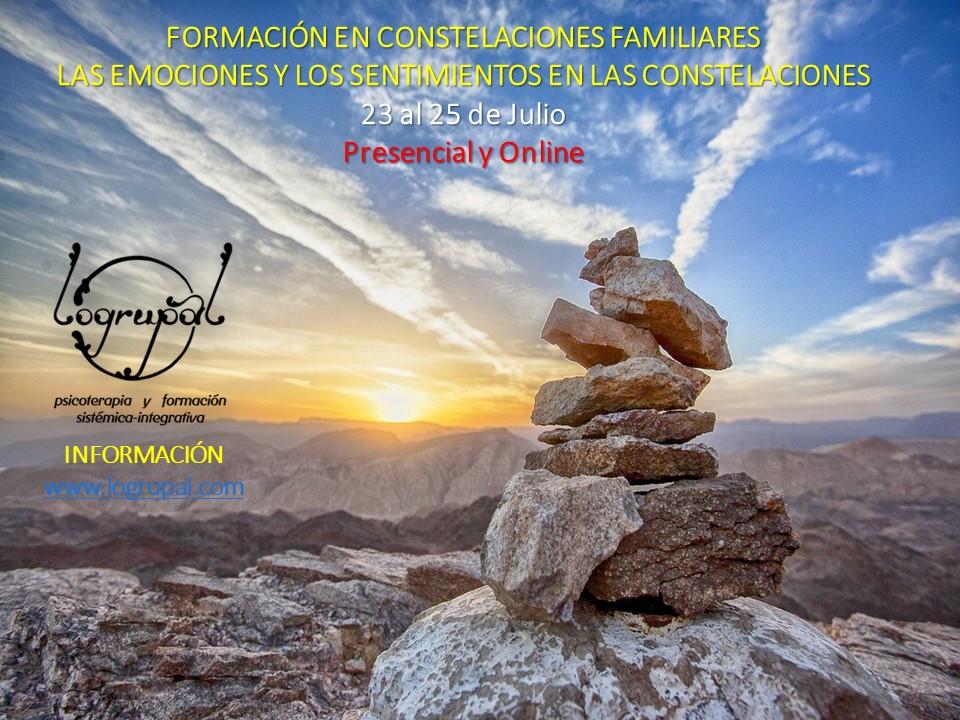 Módulo 7 del nivel 1 de la Formación en Constelaciones Familiares en Almería (presencial y online) – 23 al 25 de julio
